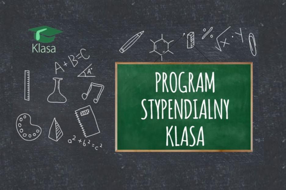 """Program stypendialny """"Klasa"""""""