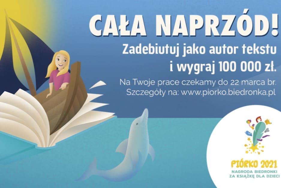 Piórko 2021. Nagroda Biedronki za książkę dla dzieci