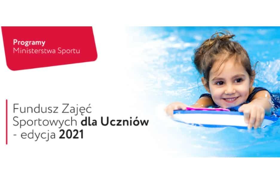 Dofinansowanie organizacji zajęć sportowych finansowanych ze środków Funduszu Zajęć Sportowych dla Uczniów