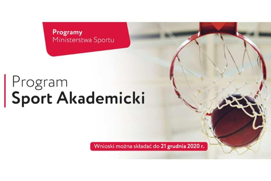 """Nabór wniosków na realizację w 2021 roku Programu """"Sport Akademicki"""""""