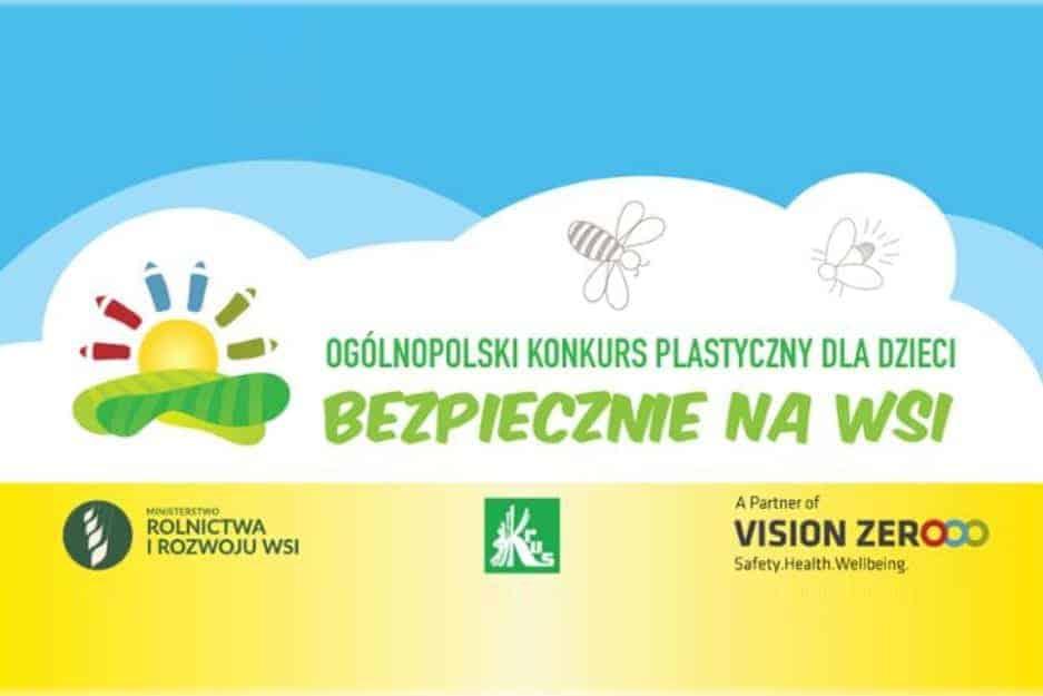 KRUS zaprasza do udziału w XI Ogólnopolskim Konkursie Plastycznym dla Dzieci