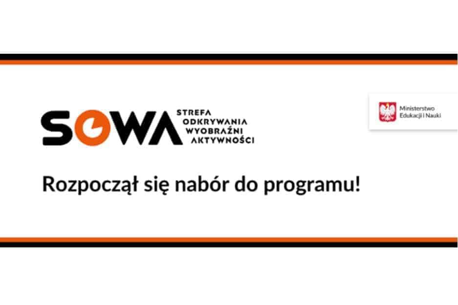 Nabór wniosków do programu SOWA rozpoczęty