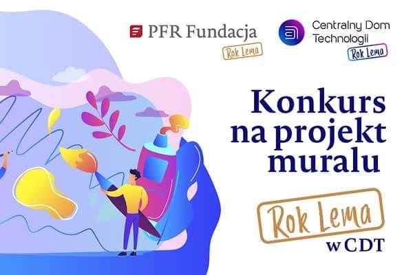 Konkurs na projekt muralu – Fundacja PFR promuje młodych artystów